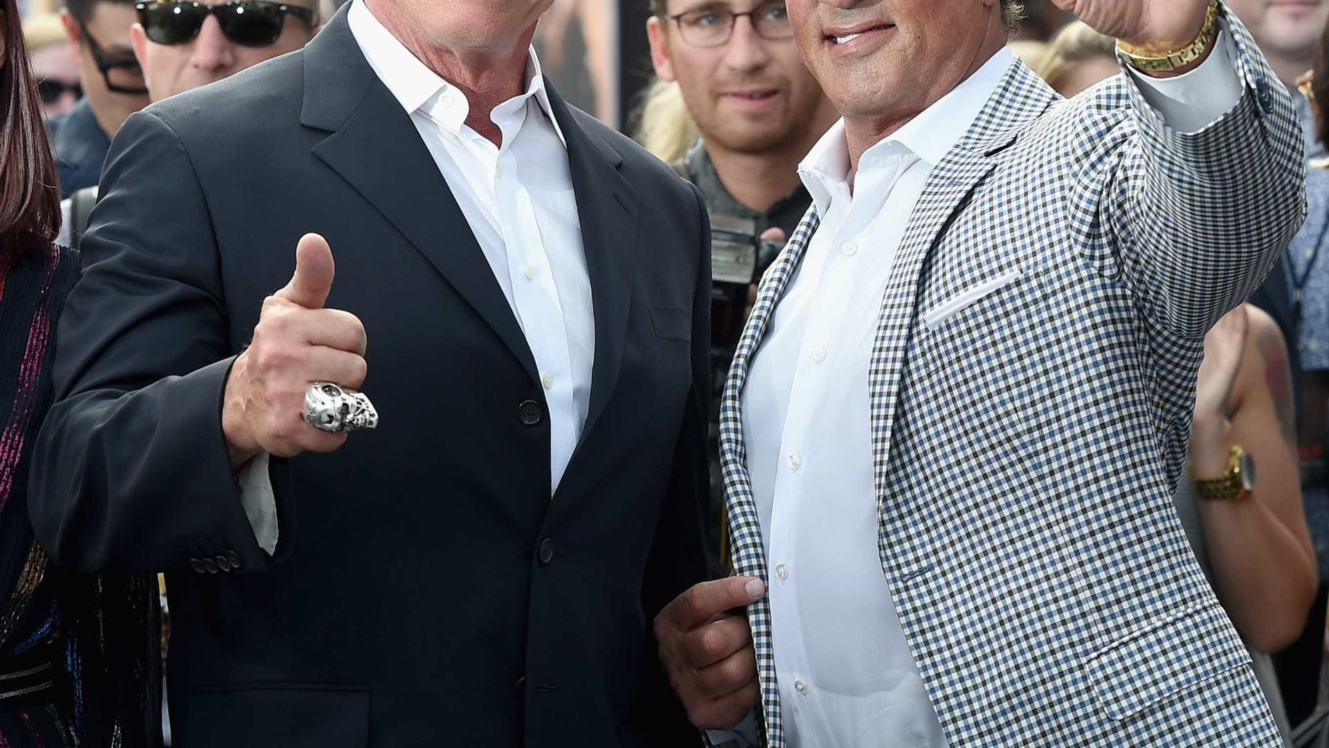 O discurso emotivo que Sylvester Stallone dedicou a Arnold Schwarzenegger