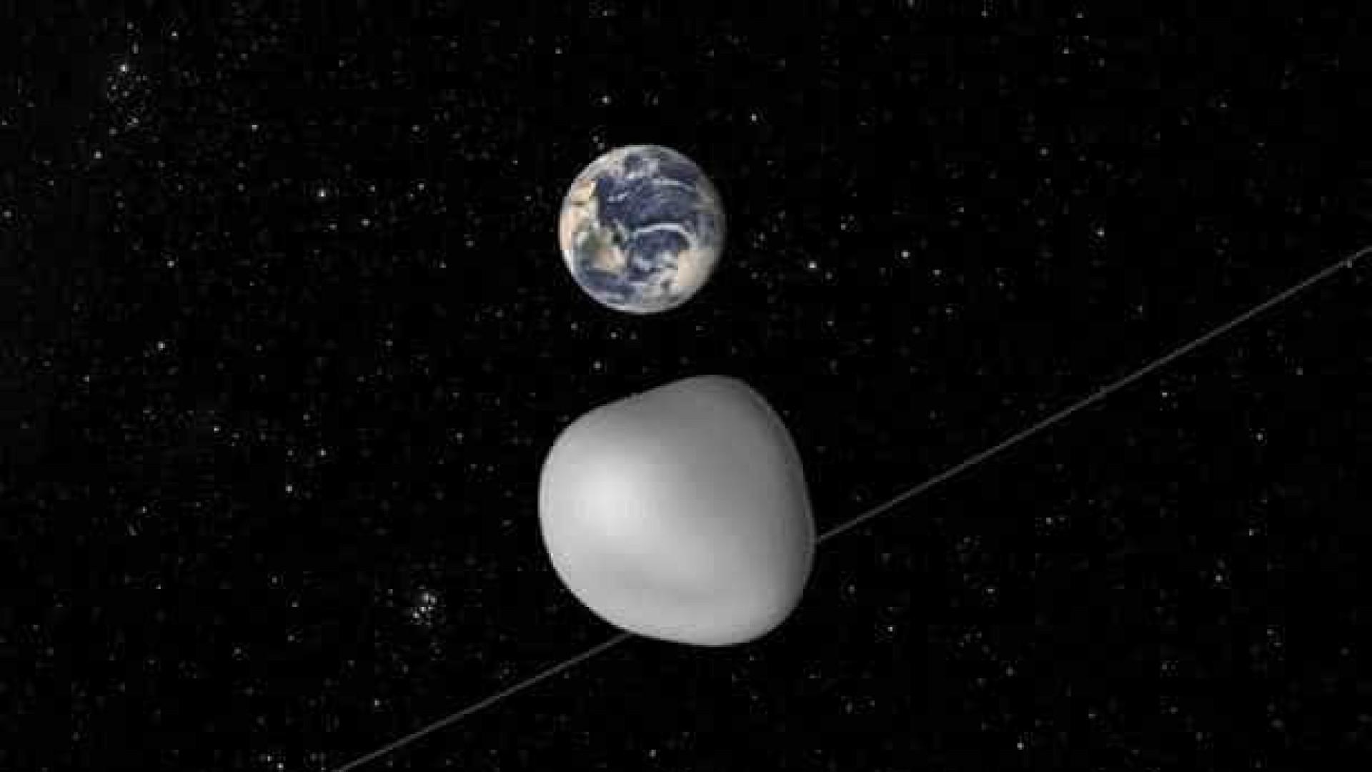 Asteróide vai rasar a Terra e NASA vai tentar algo 'único'