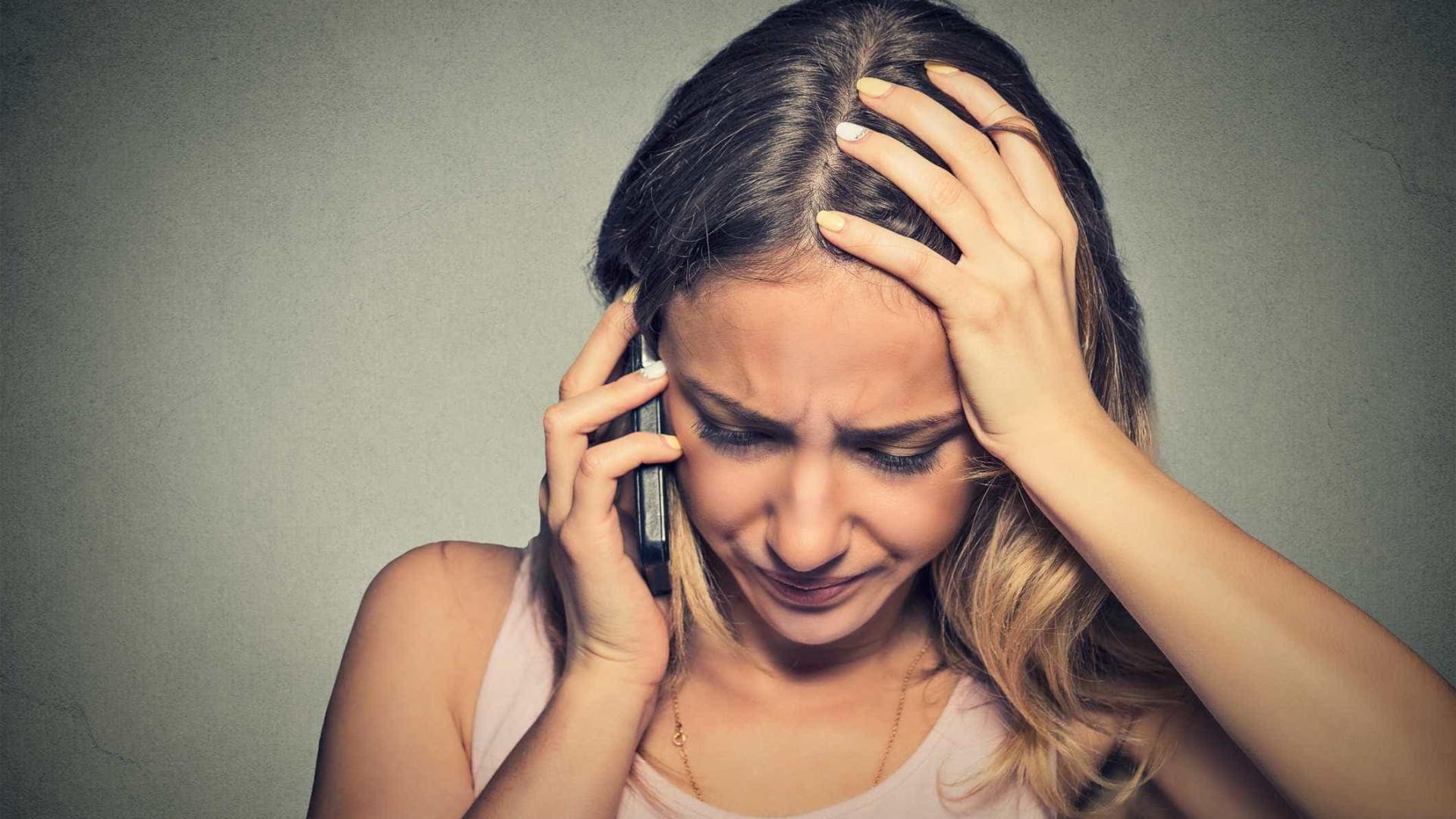 Cansado, stressado, triste? Telefone à sua mãe