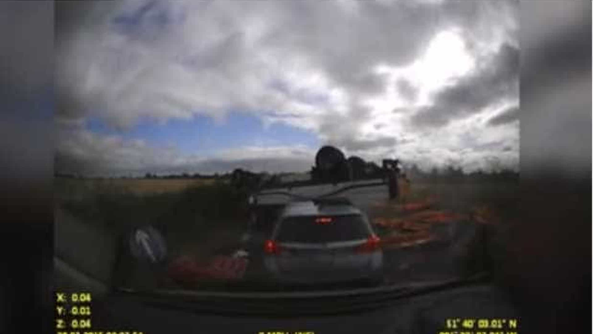 Homem partilha vídeo de acidente que matou o próprio pai