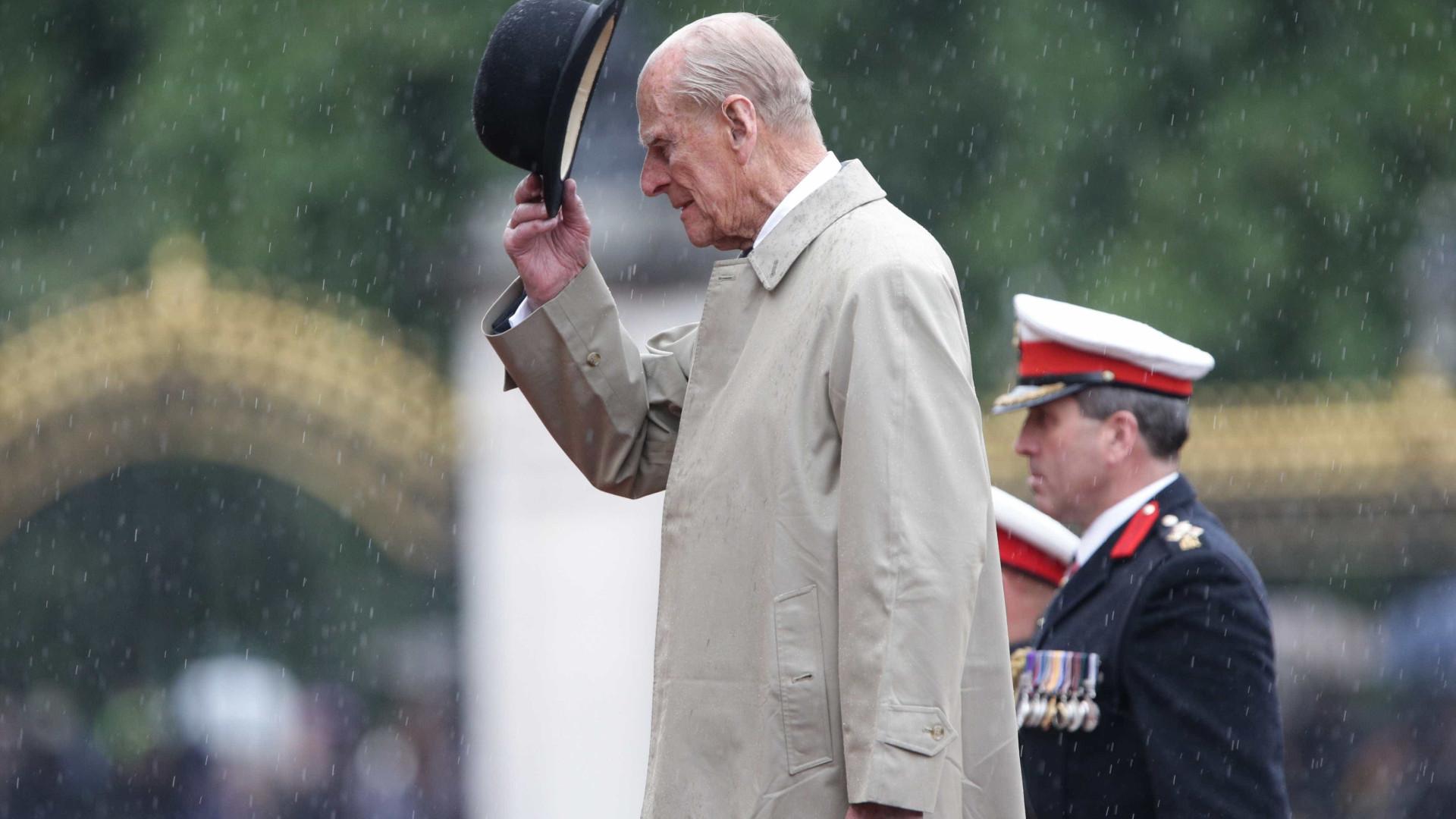 A última aparição oficial do Duque de Edimburgo, Philip