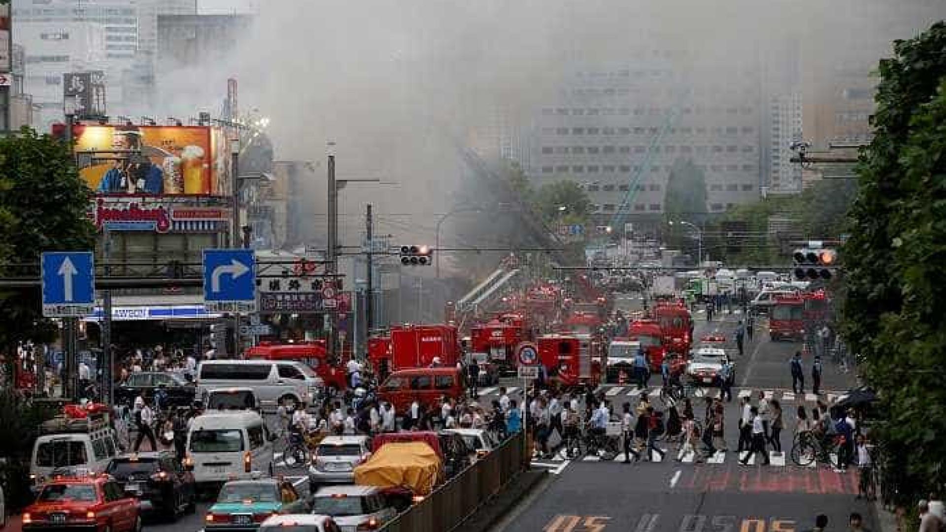 Incêndio destrói parte do famoso mercado de peixe de Tóquio