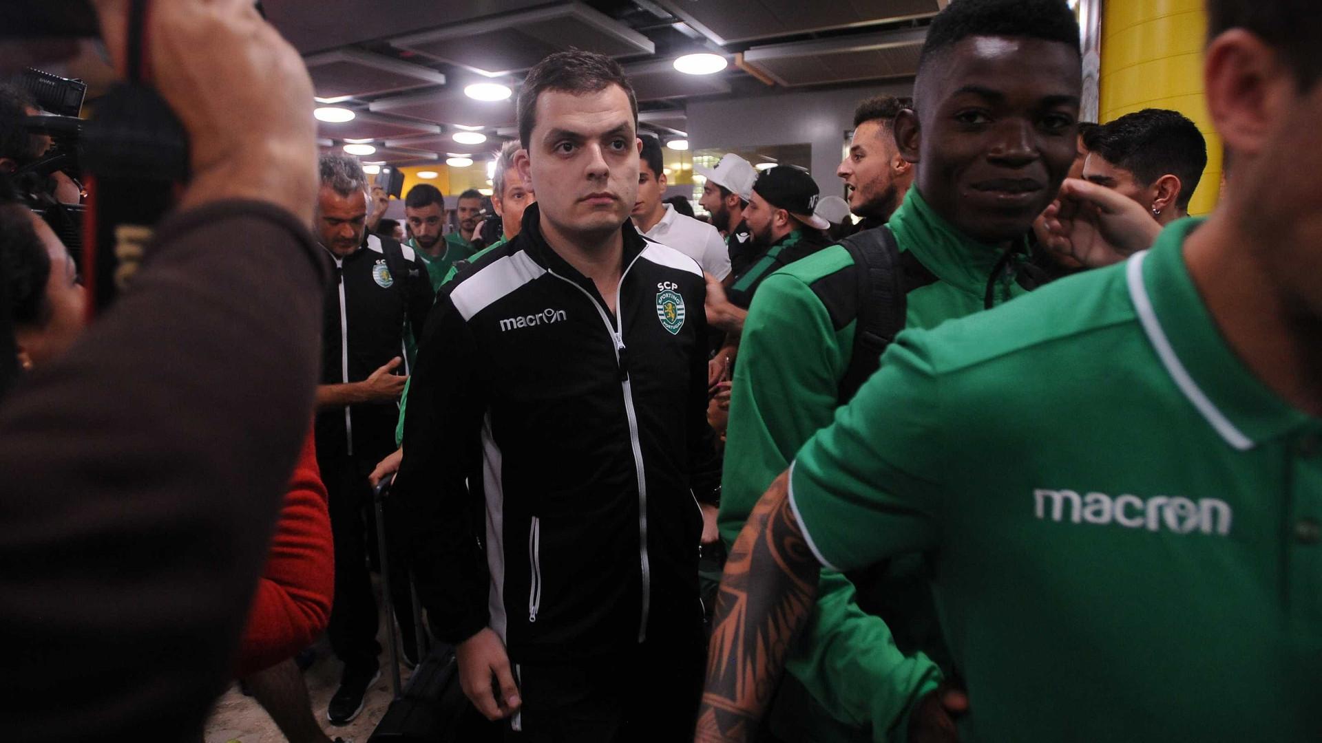André Geraldes já chegou à PJ do Porto