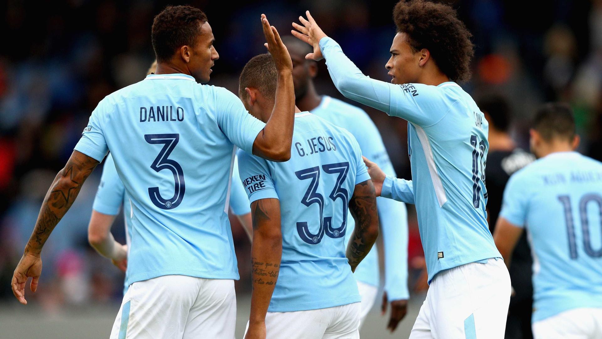 Manchester City goleia West Ham na estreia de Bernardo Silva