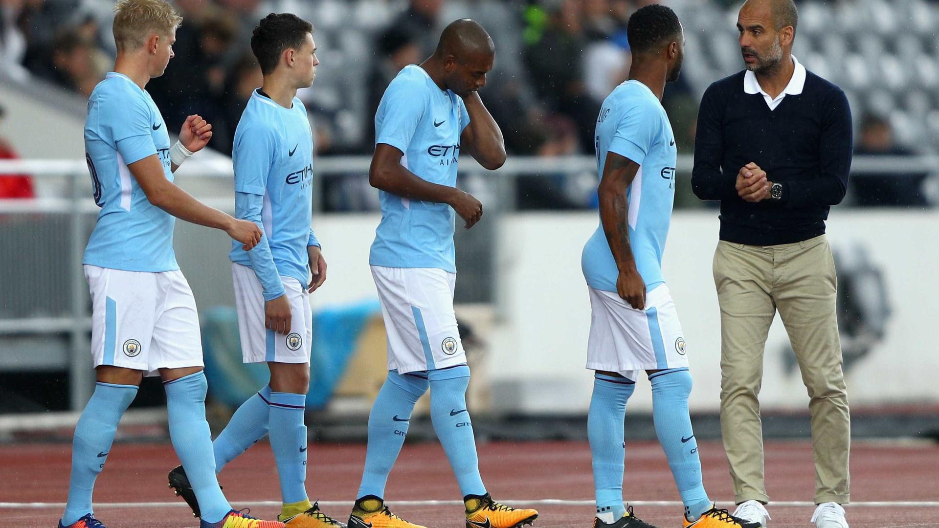 Gabriel Jesus marca em amistoso do Manchester City contra o West Ham