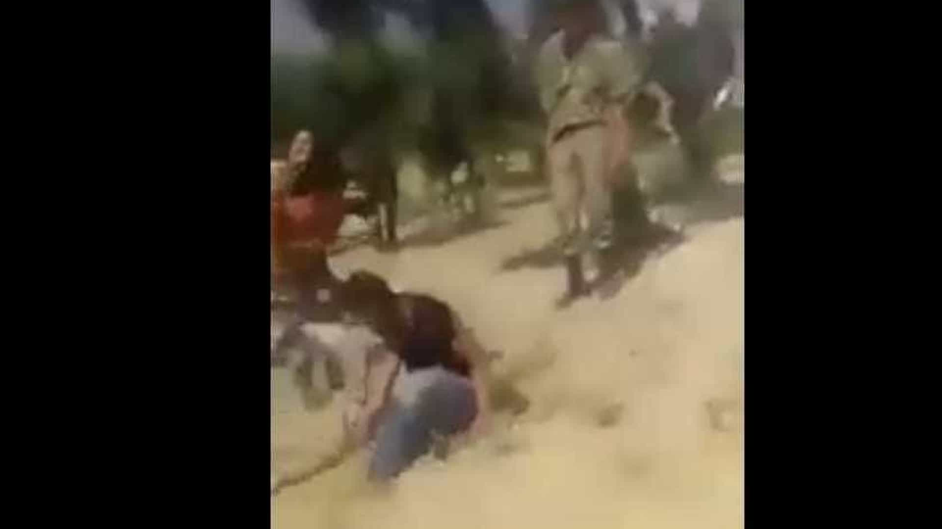 Soldados turcos detidos após vídeo de abusos a refugiados sírios
