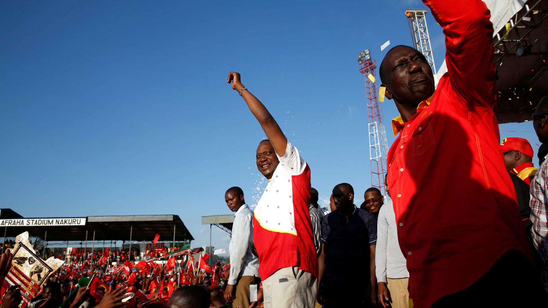 Londres felicita Kenyatta pela sua reeleição como presidente do Quénia