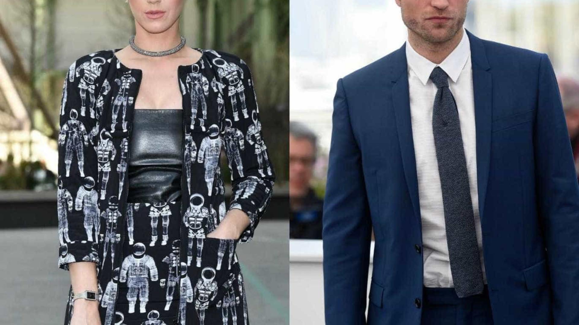 Katy Perry e Robert Pattinson muito próximos