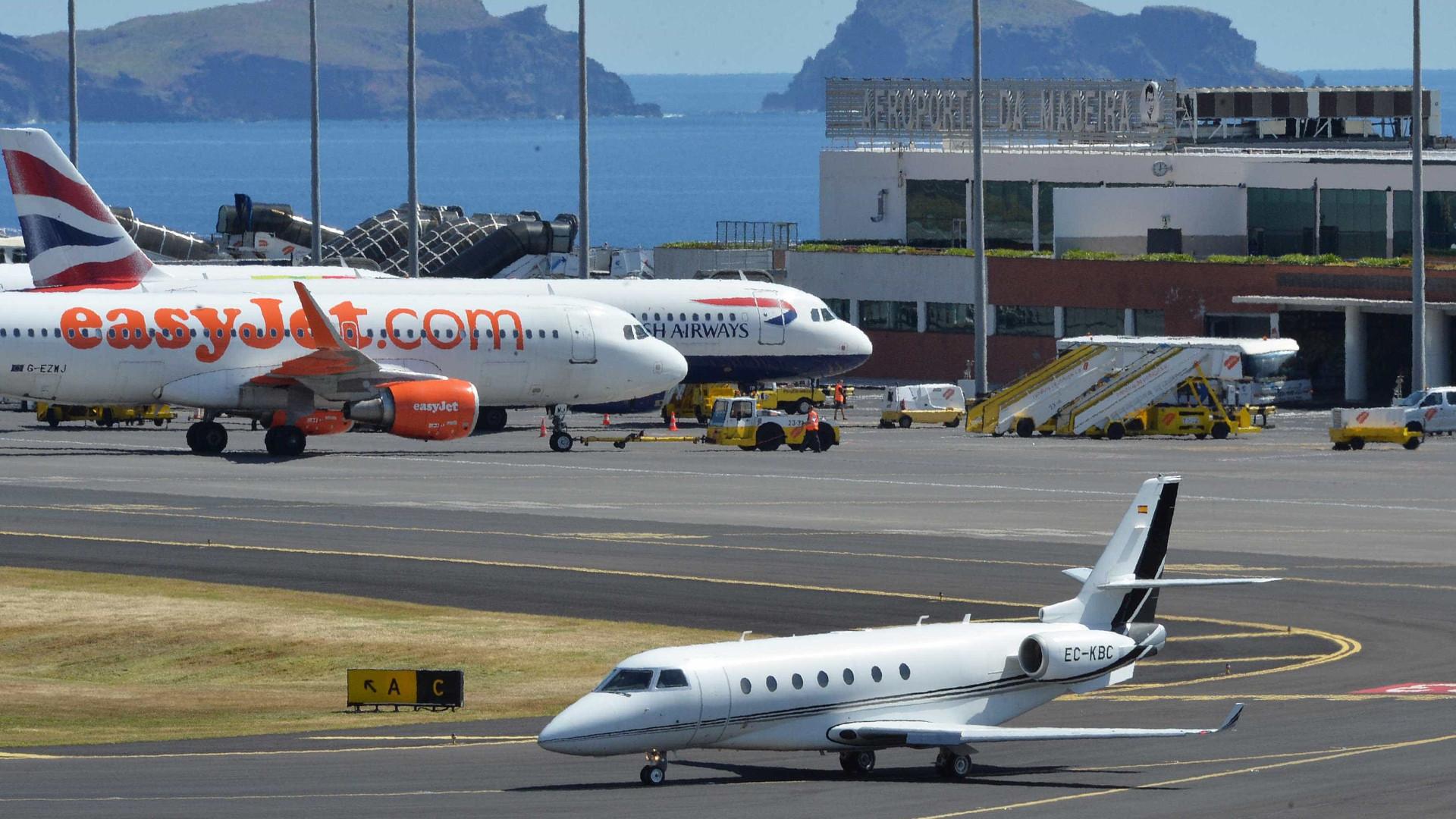 Aeroporto da Madeira com voos cancelados esta manhã devido ao vento