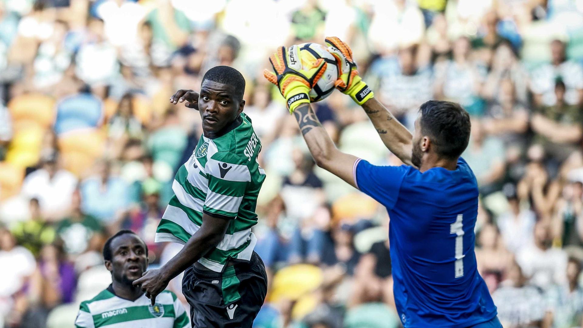 Jorge Jesus falou com William Carvalho sobre a sua permanência