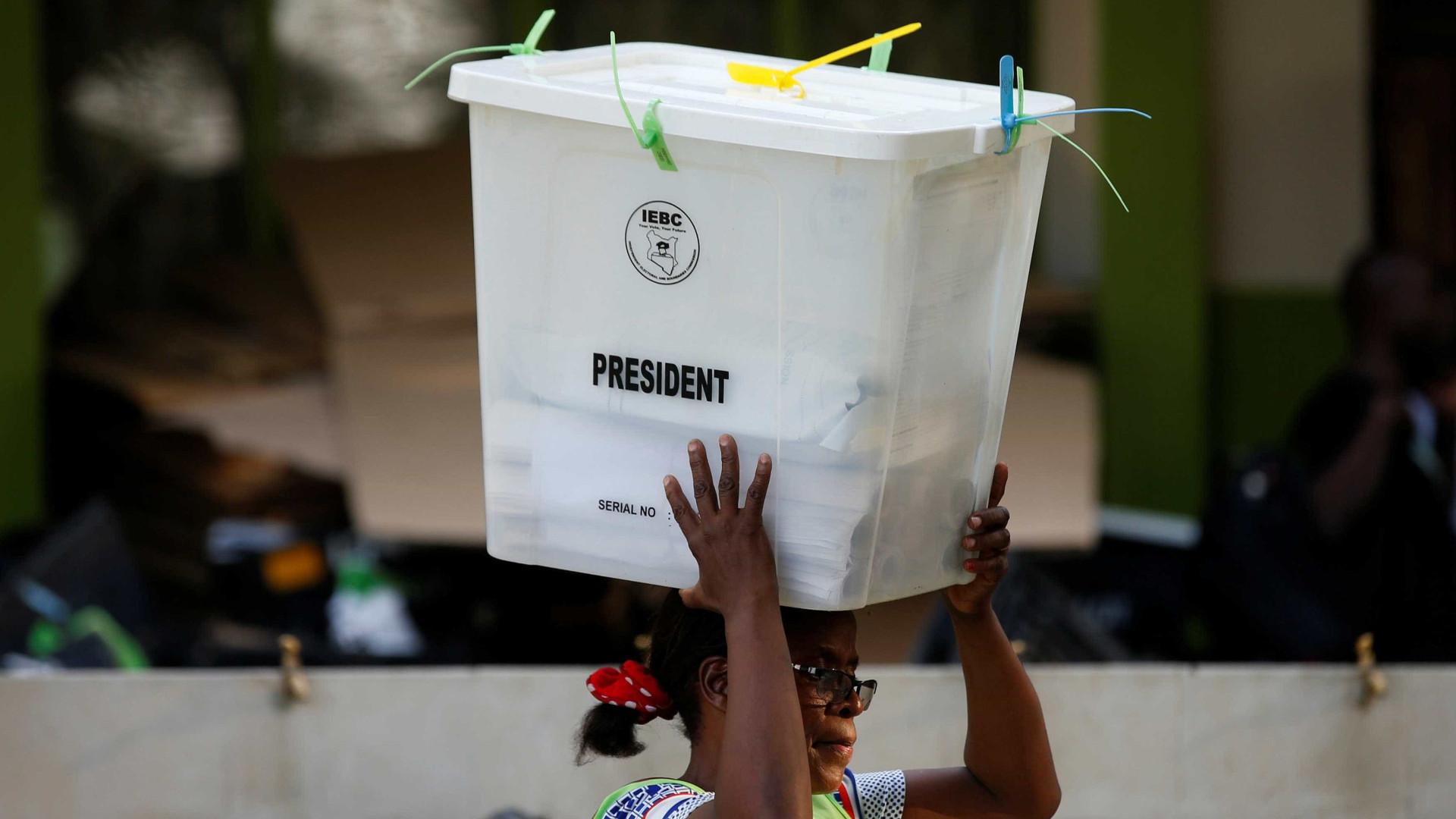 Oposição do Quénia diz que o seu candidato deve ser proclamado Presidente