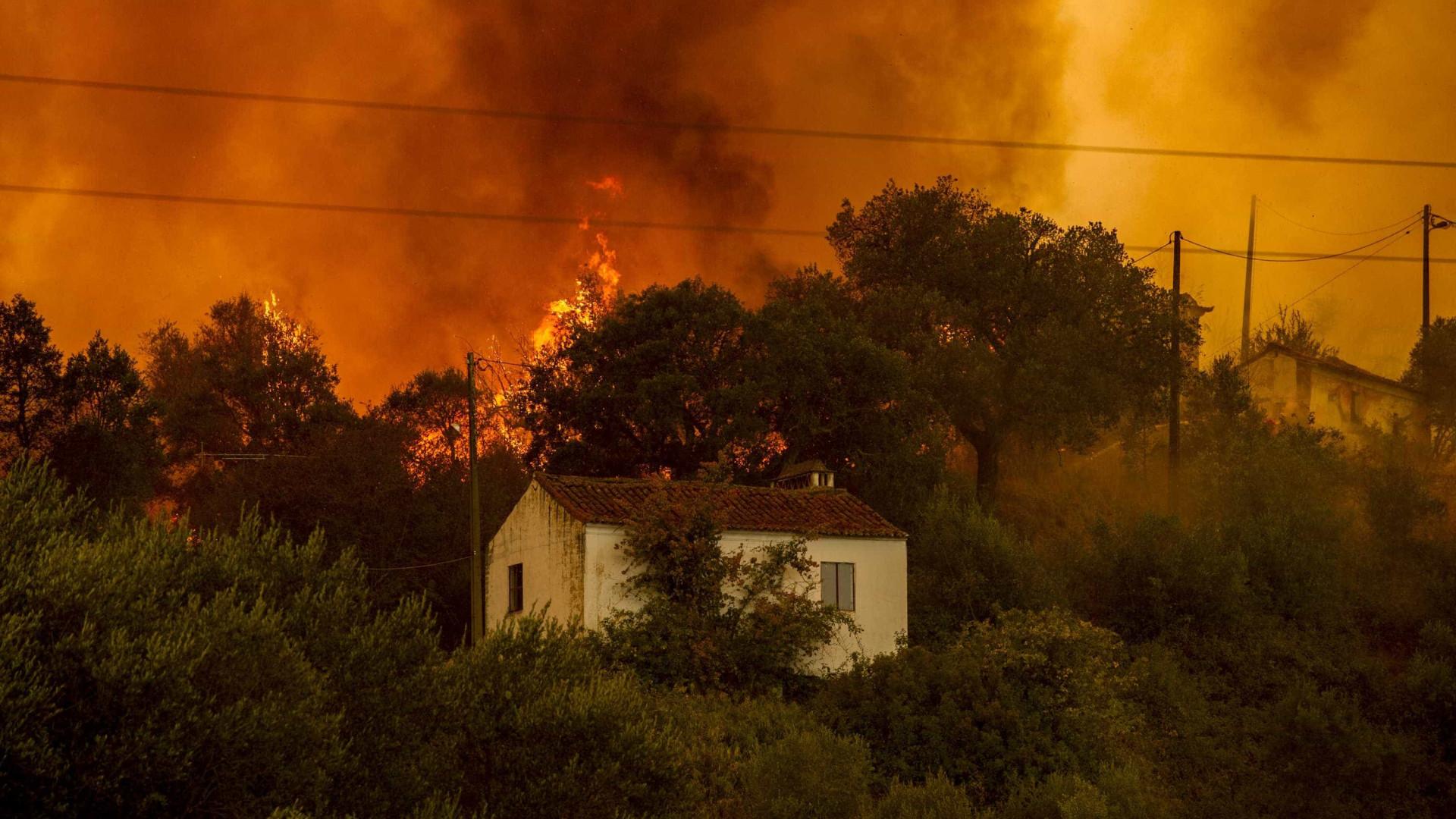 """""""Ontem foi o dia com maior número de incêndios"""" em Portugal este ano"""