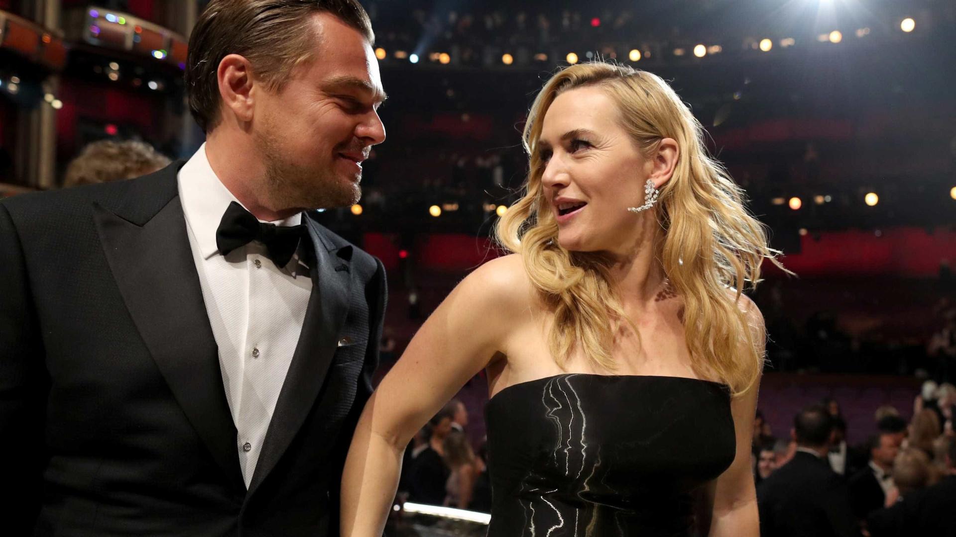 Leo DiCaprio e Kate Winslet estariam vivendo affair, afirma revista