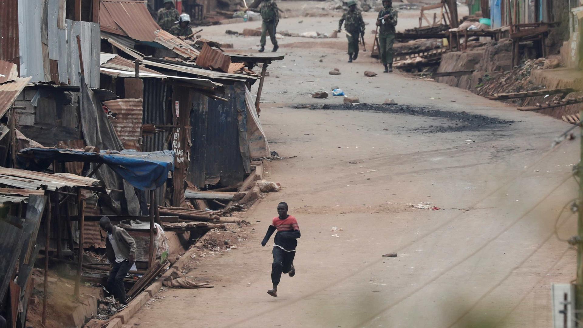 Violência pós-eleitoral no Quénia agrava-se e aumenta número de mortos