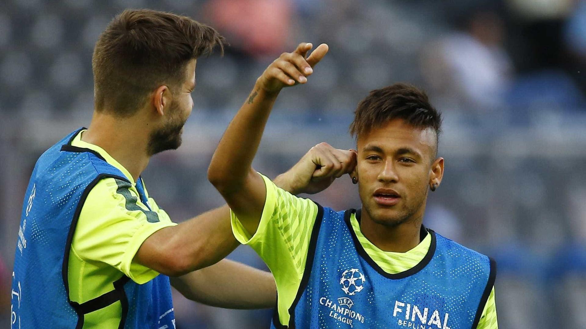 """""""Neymar já estava a pensar em sair no casamento de Messi"""""""