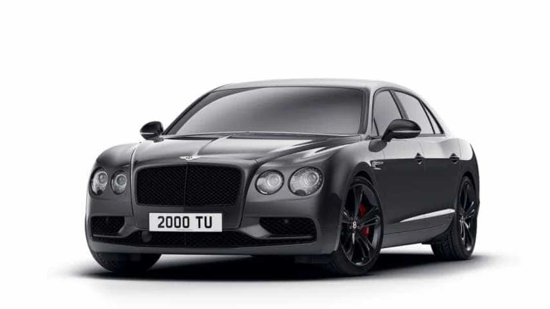 Bentley prepara Black Edition do Flying Spur V8 S