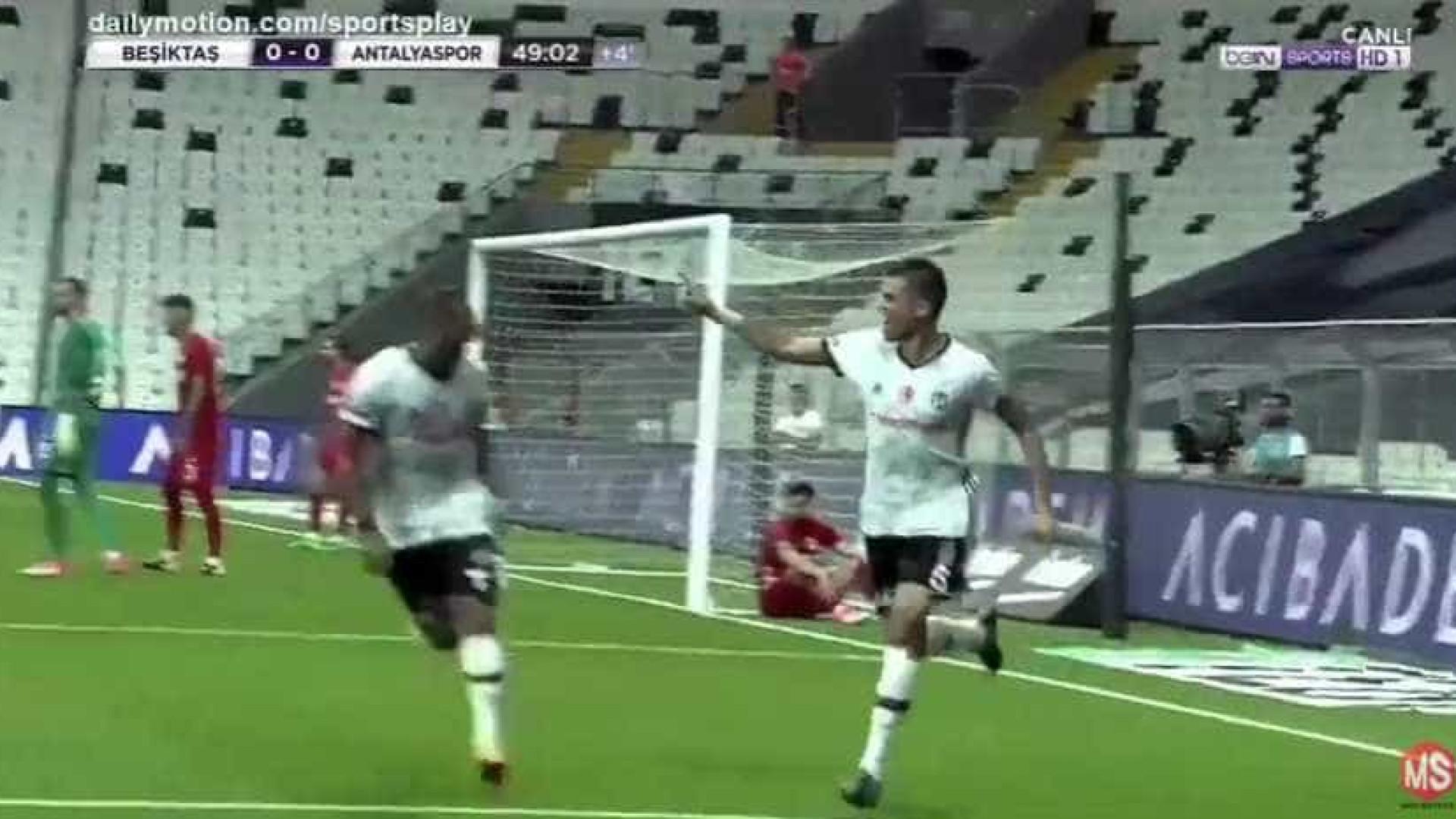 Pepe redime-se e estreia-se a marcar pelo Besiktas