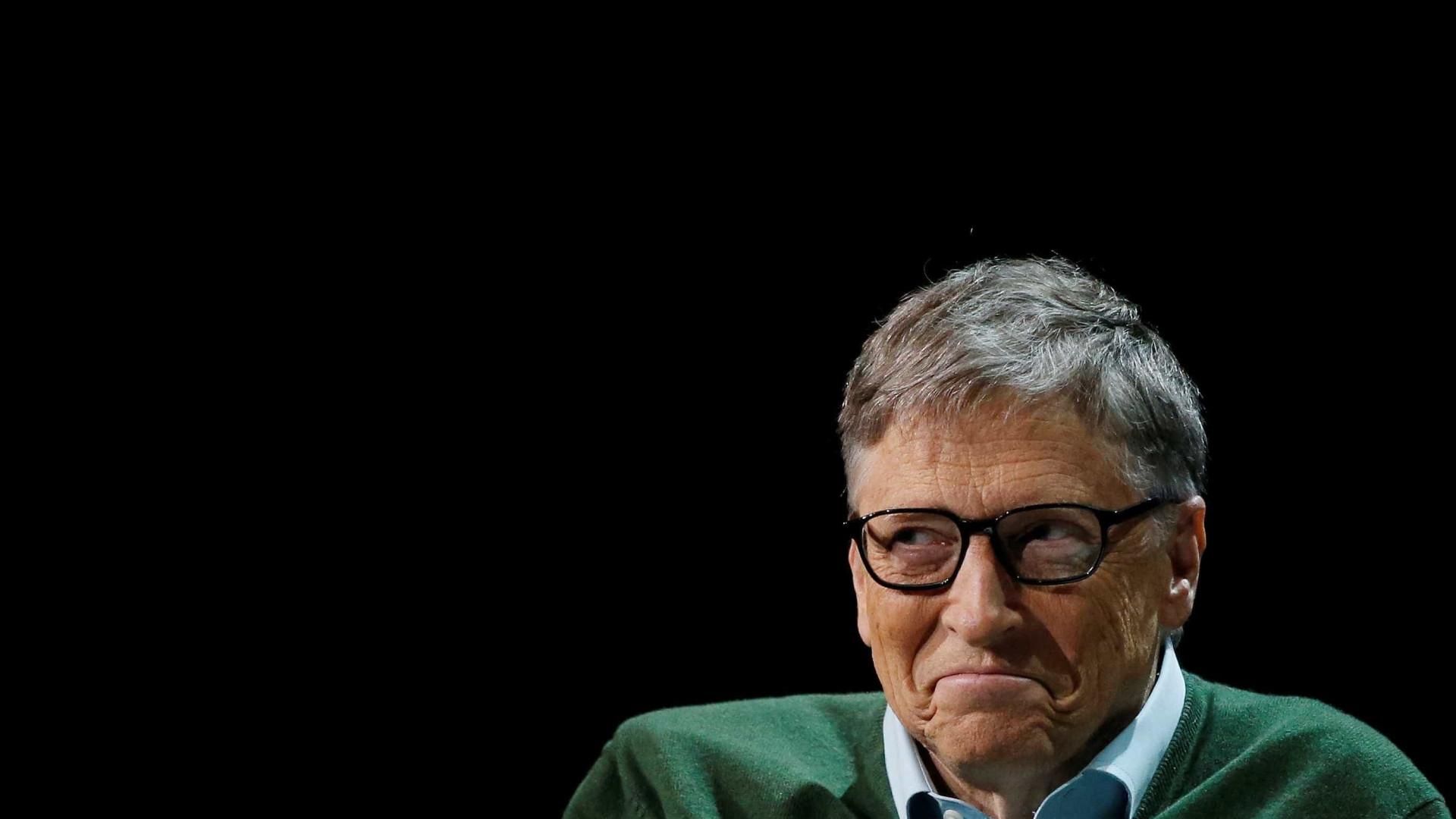 Bill Gates doa quase 4.000 milhões em acções para beneficência