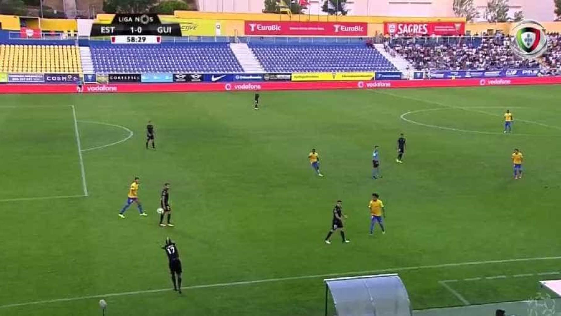 Resultado final: Estoril-Praia 3, Vitória de Guimarães 0