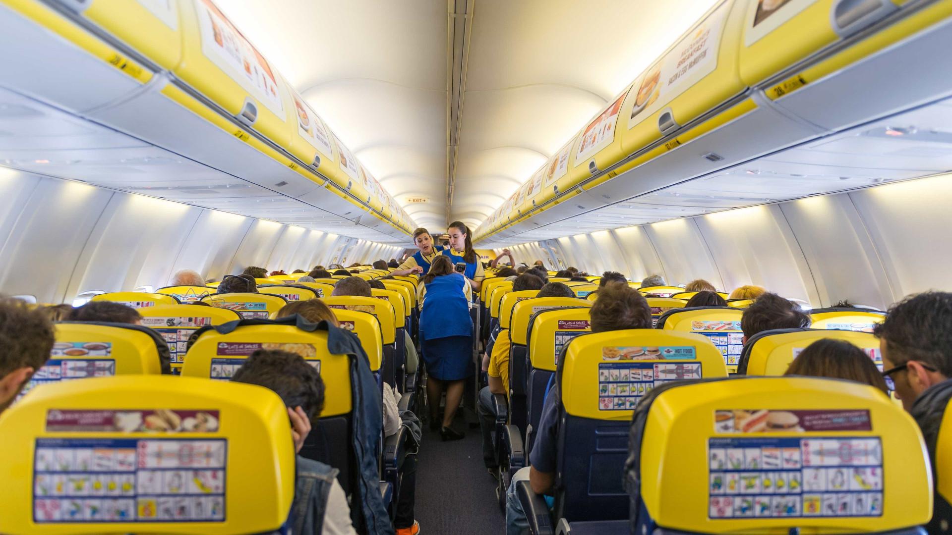 Entra amanhã em vigor nova política de bagagem da Ryanair