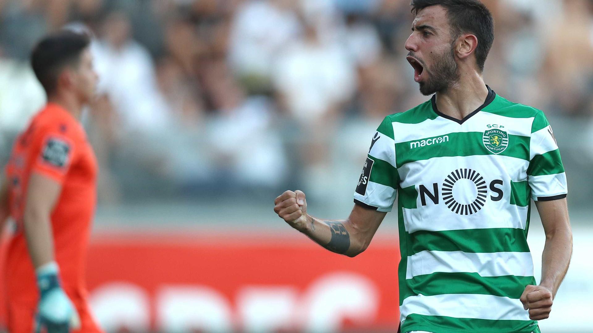 Resolvido: Bruno Fernandes fica e dobra salário no Sporting