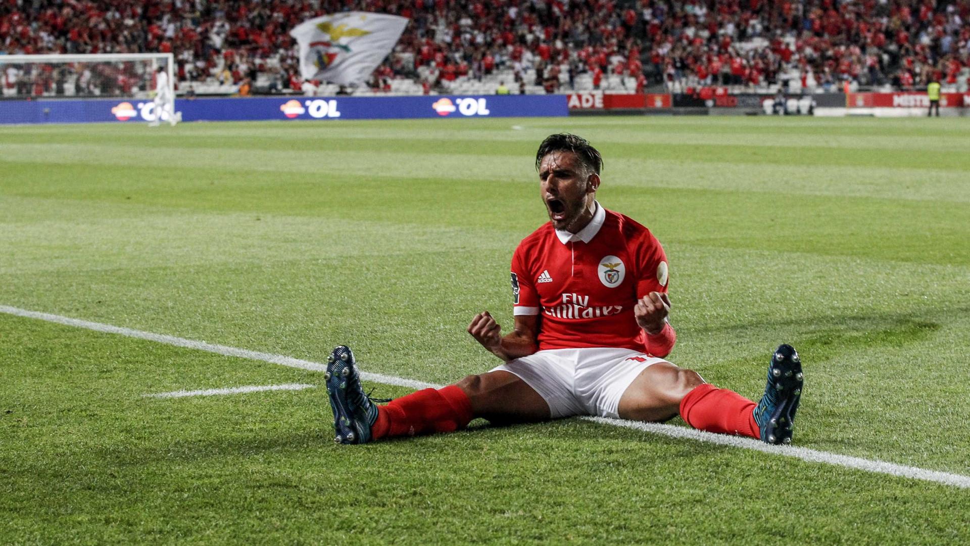 """""""Tenho um ano de contrato com o Benfica, onde sou feliz"""""""