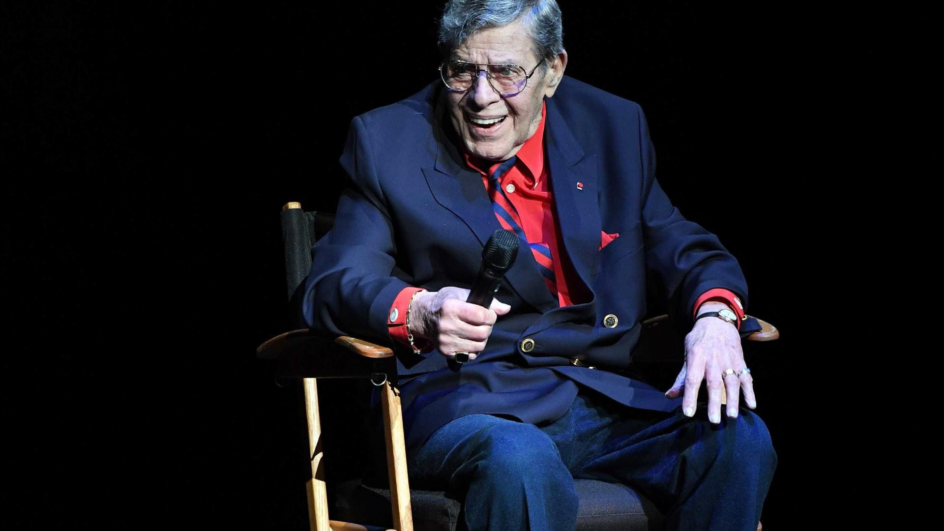 Morreu aos 91 anos o humorista Jerry Lewis
