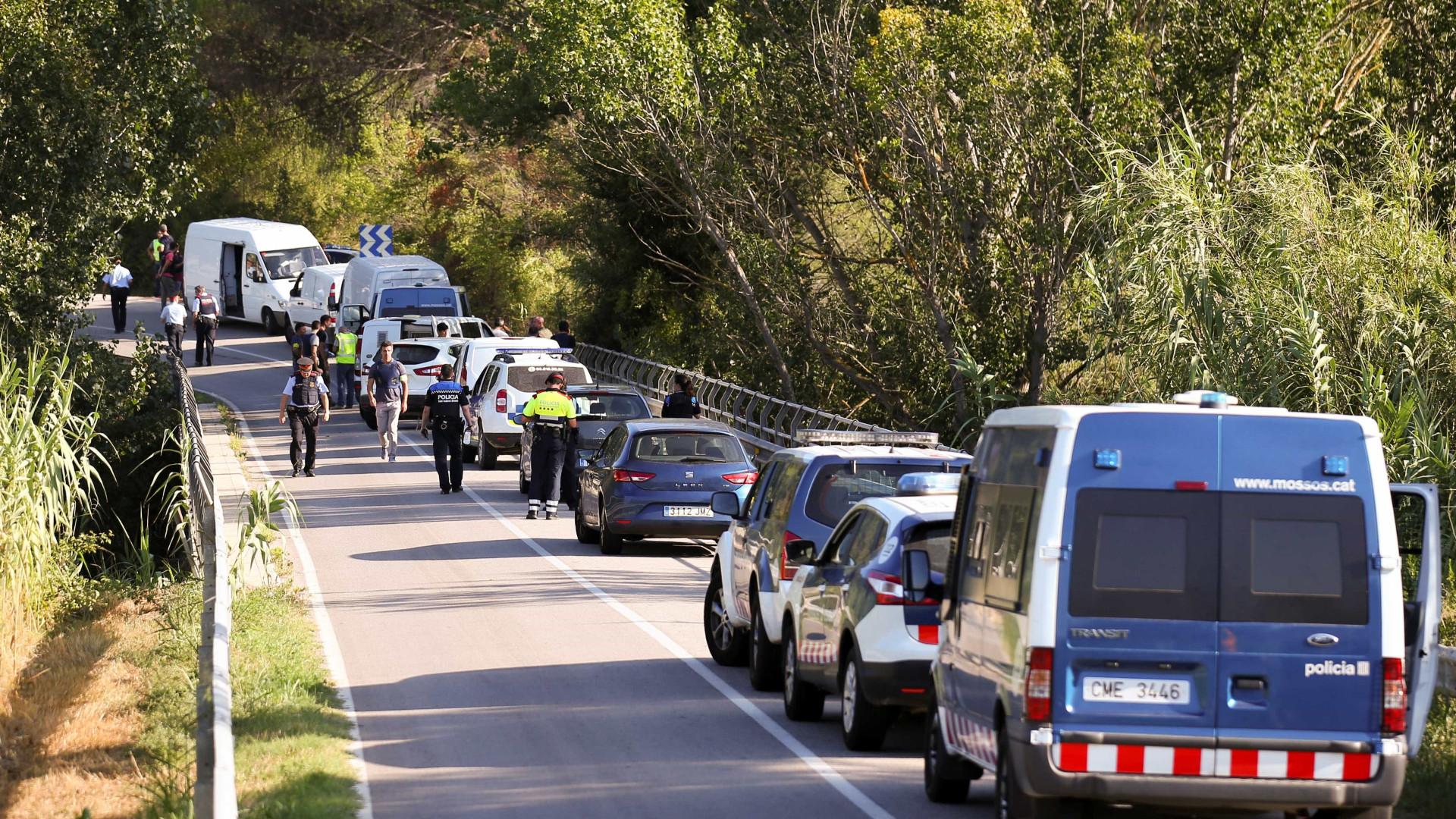 Polícia catalã investiga se terrorista ia acompanhado