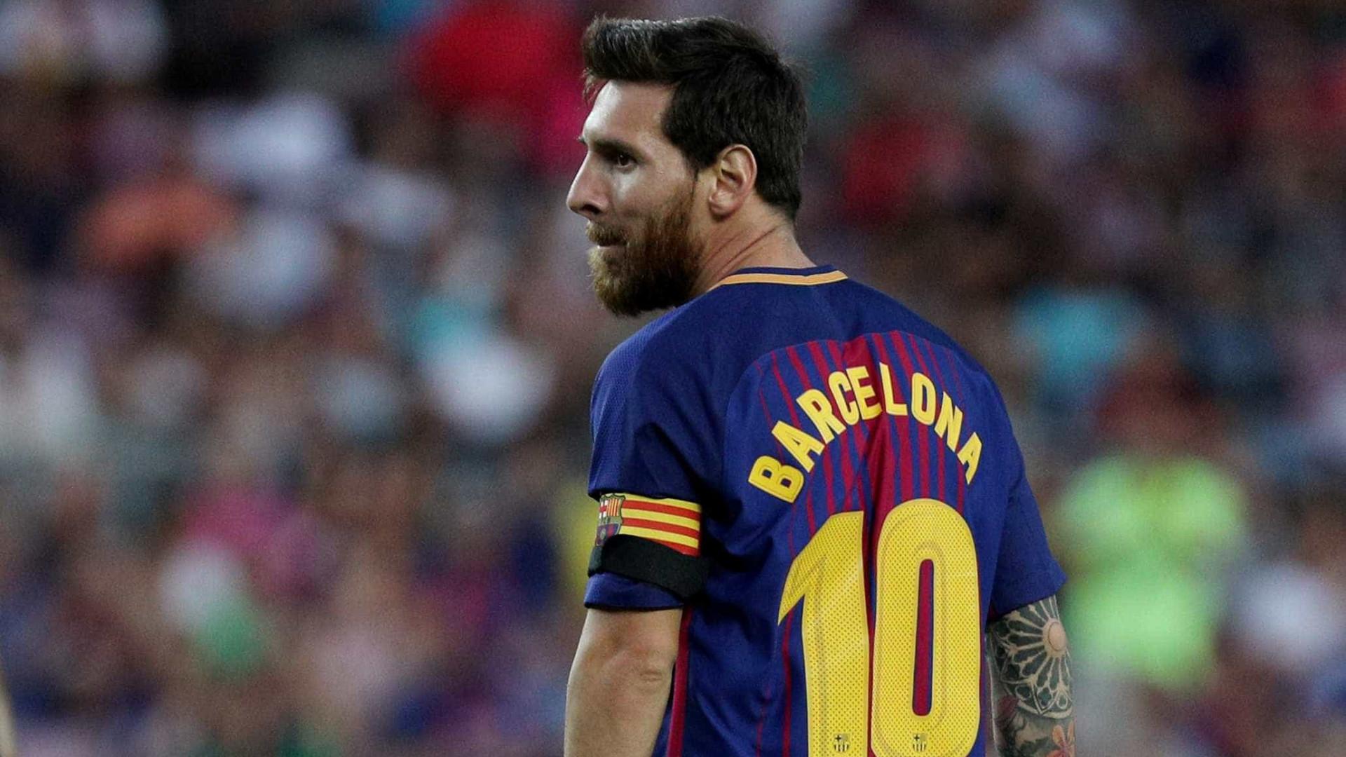 Pai de Messi inicia conversações com o Manchester City