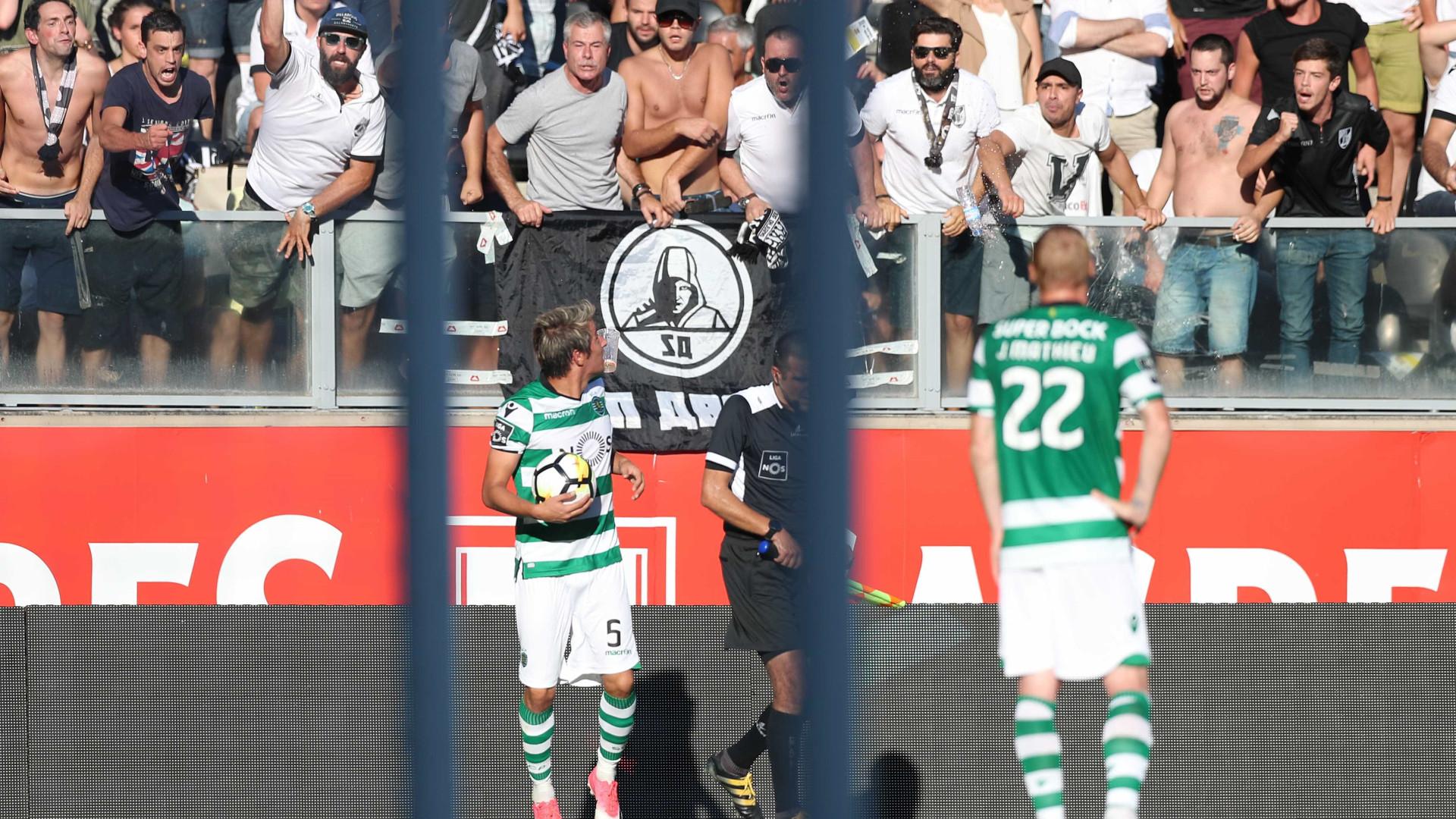 V. Guimarães multado em 5 mil euros por comportamento indevido dos adeptos