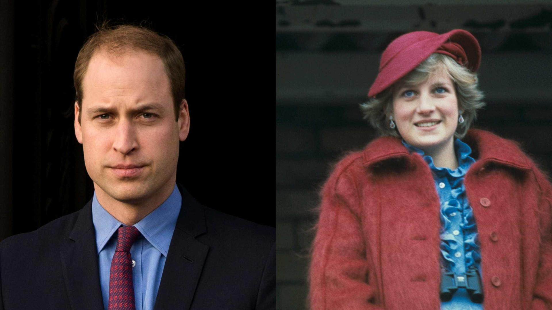 William fala da bulimia da princesa Diana pela primeira vez