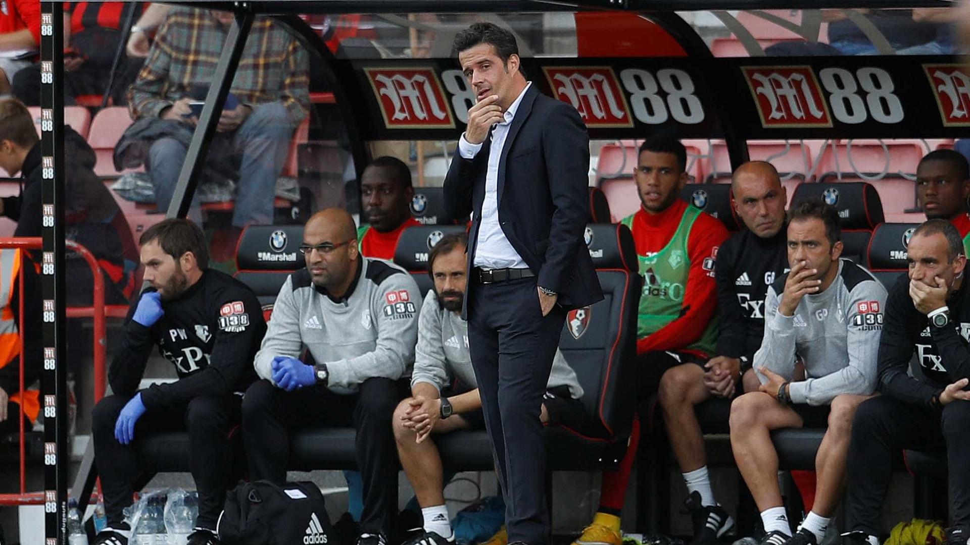 Watford de Marco Silva empata com o Brighton na estreia de Carrillo