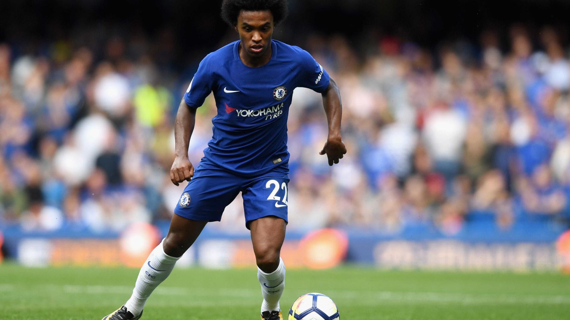 Barcelona negocia a contratação de Willian, do Chelsea, diz revista