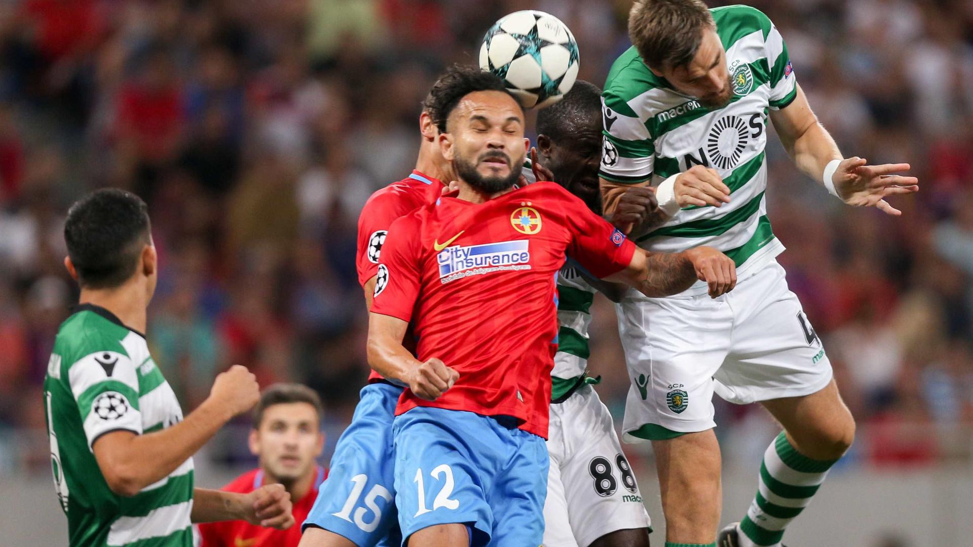 Sporting aplica 'chapa' cinco para chegar à Liga dos Campeões