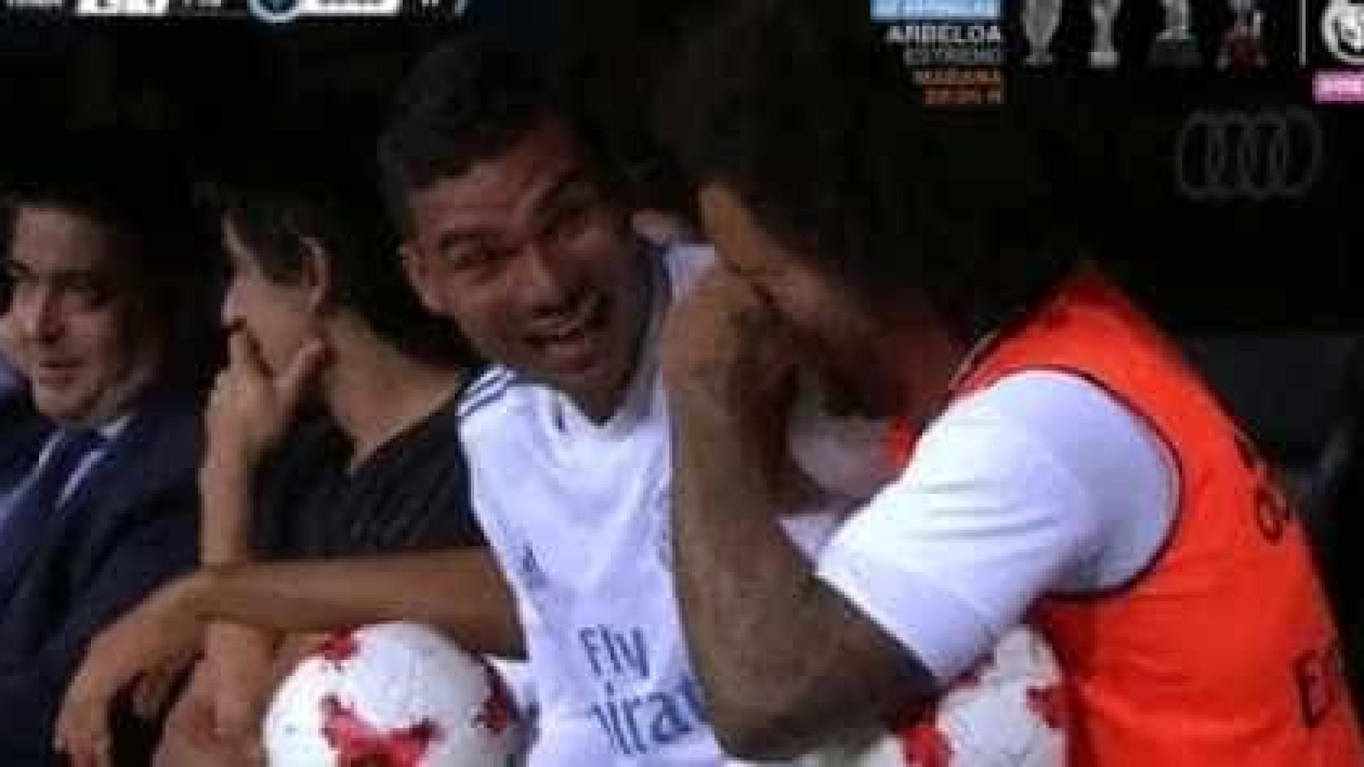 Nem Marcelo queria acreditar naquilo que Ronaldo tinha acabado de fazer