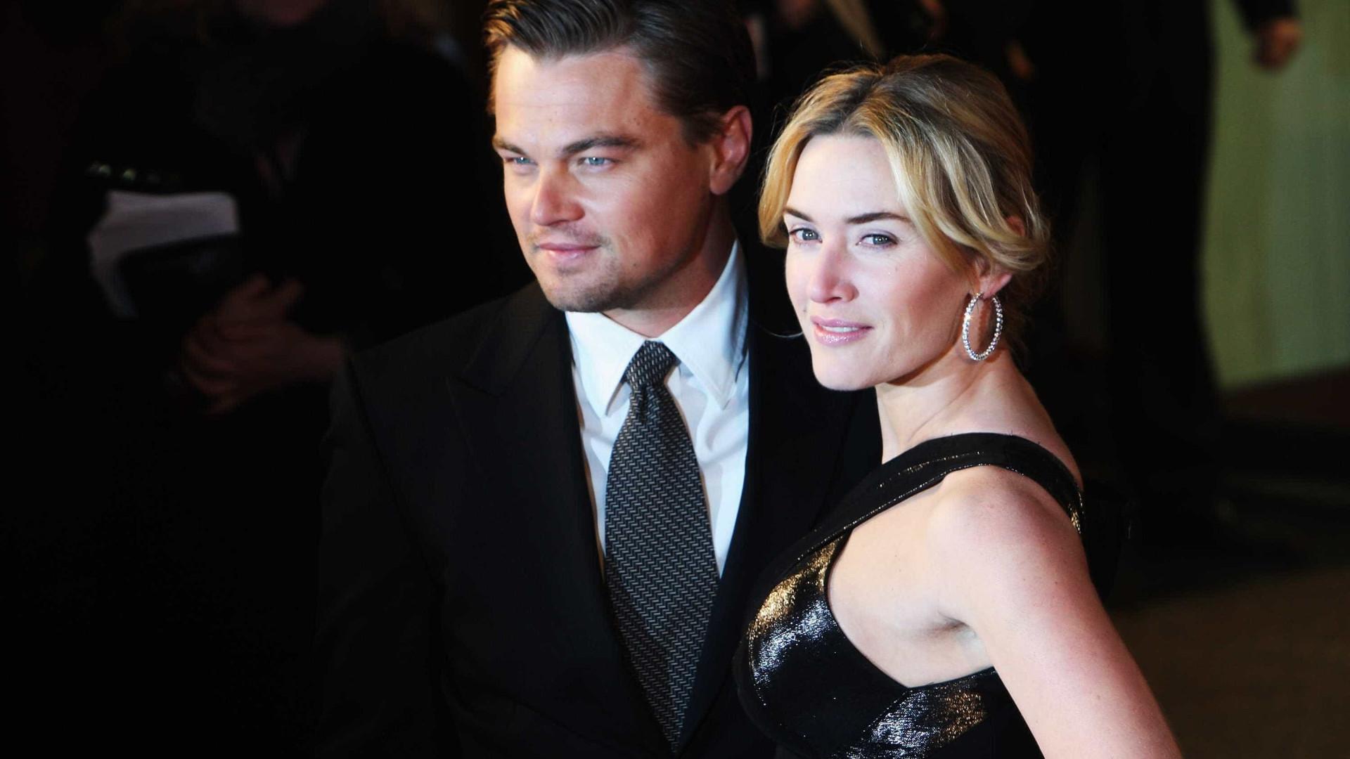 Kate Winslet comenta rumores de romance com DiCaprio