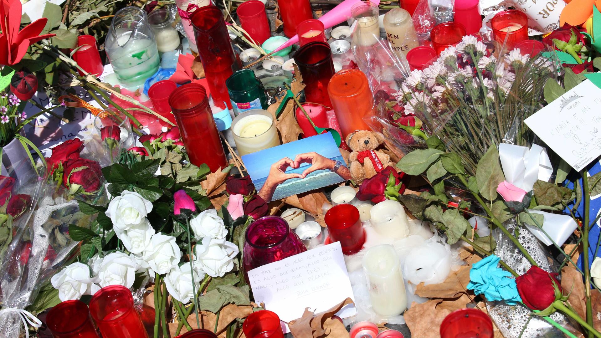 Morreu turista ferida em atentado de Barcelona