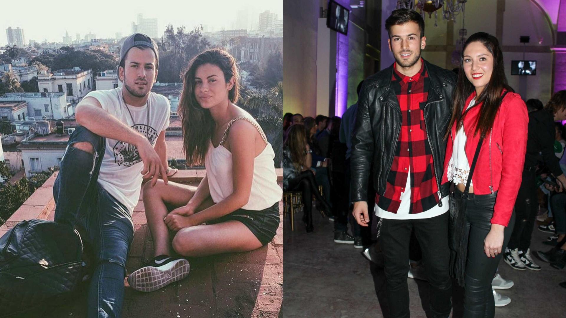 David Carreira e Carolina Loureiro assumem fim do namoro