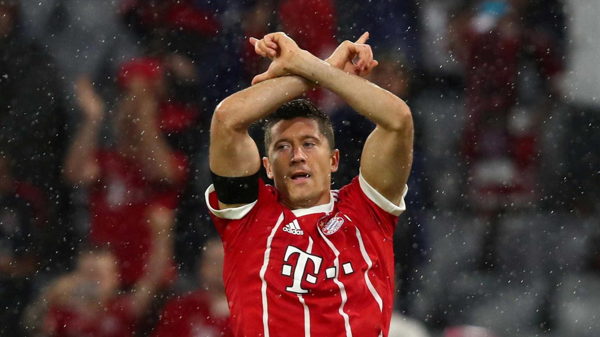 """Lewandowski """"chocado"""" com o lugar em que ficou na última Bola de Ouro"""