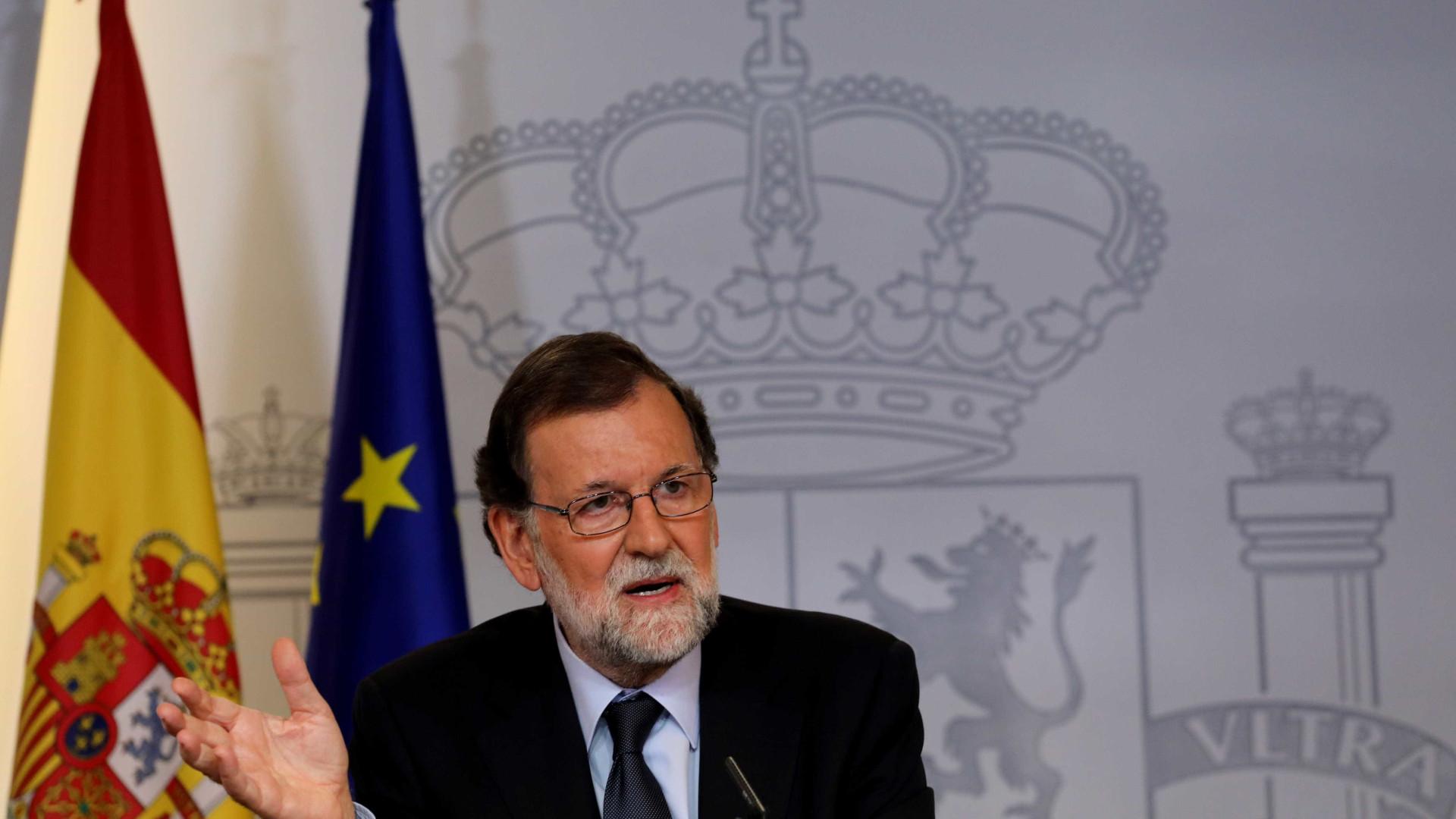 """Rajoy adverte que insistir no referendo na Catalunha só causa """"tensão"""""""