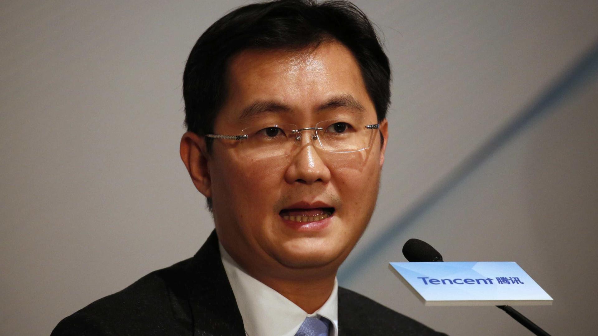 Tencent é a primeira empresa chinesa a valer 500 mil milhões em bolsa