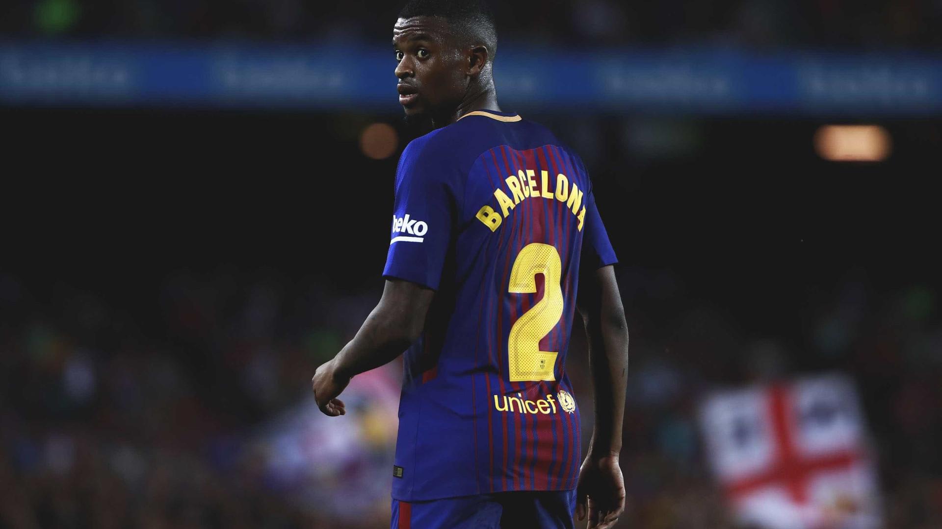 Nélson Semedo é baixa de última hora no Barcelona 53ca7ebc71654