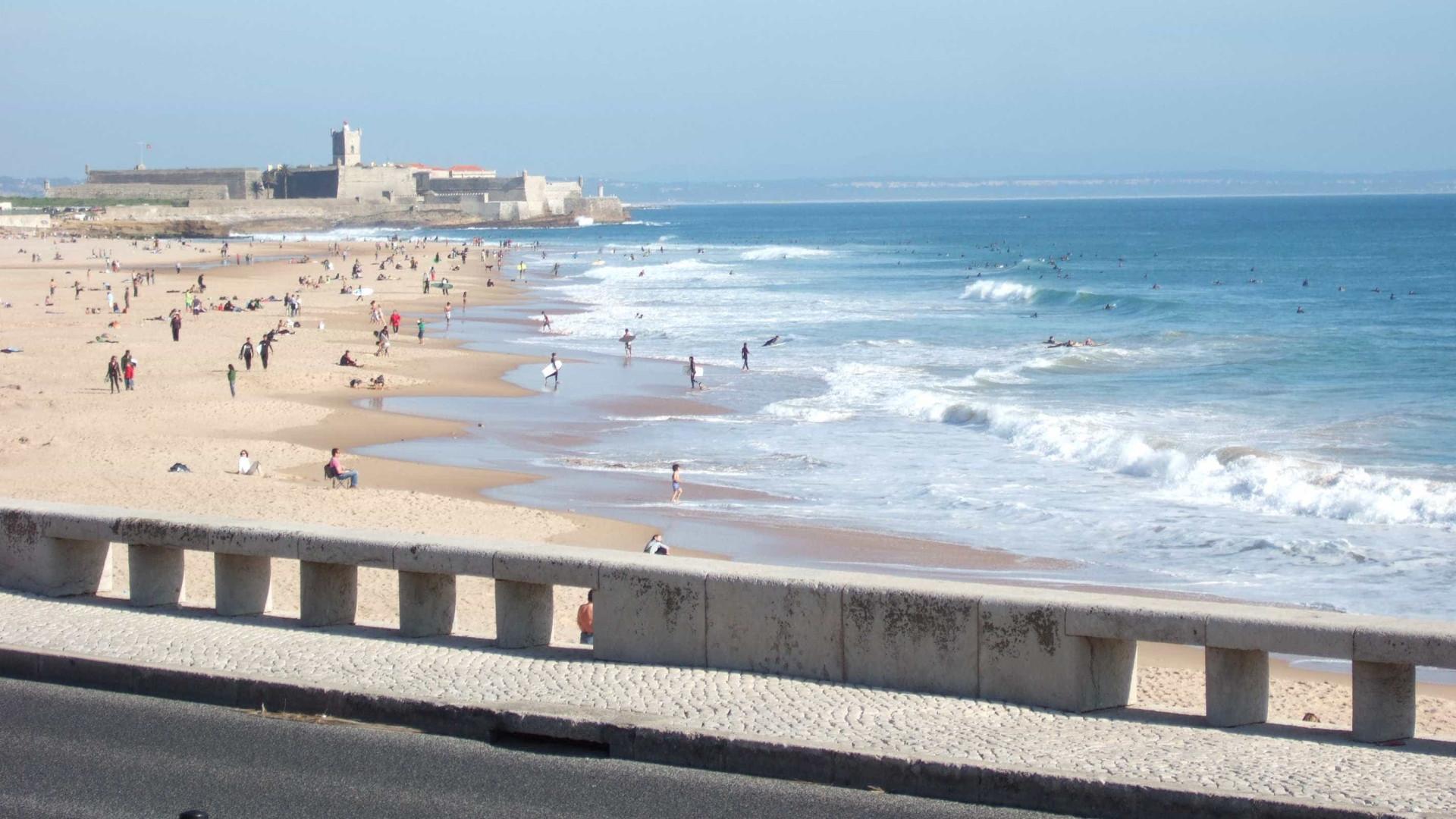 c0a84f62450e7 Duas crianças e uma adolescente resgatadas na praia de Carcavelos