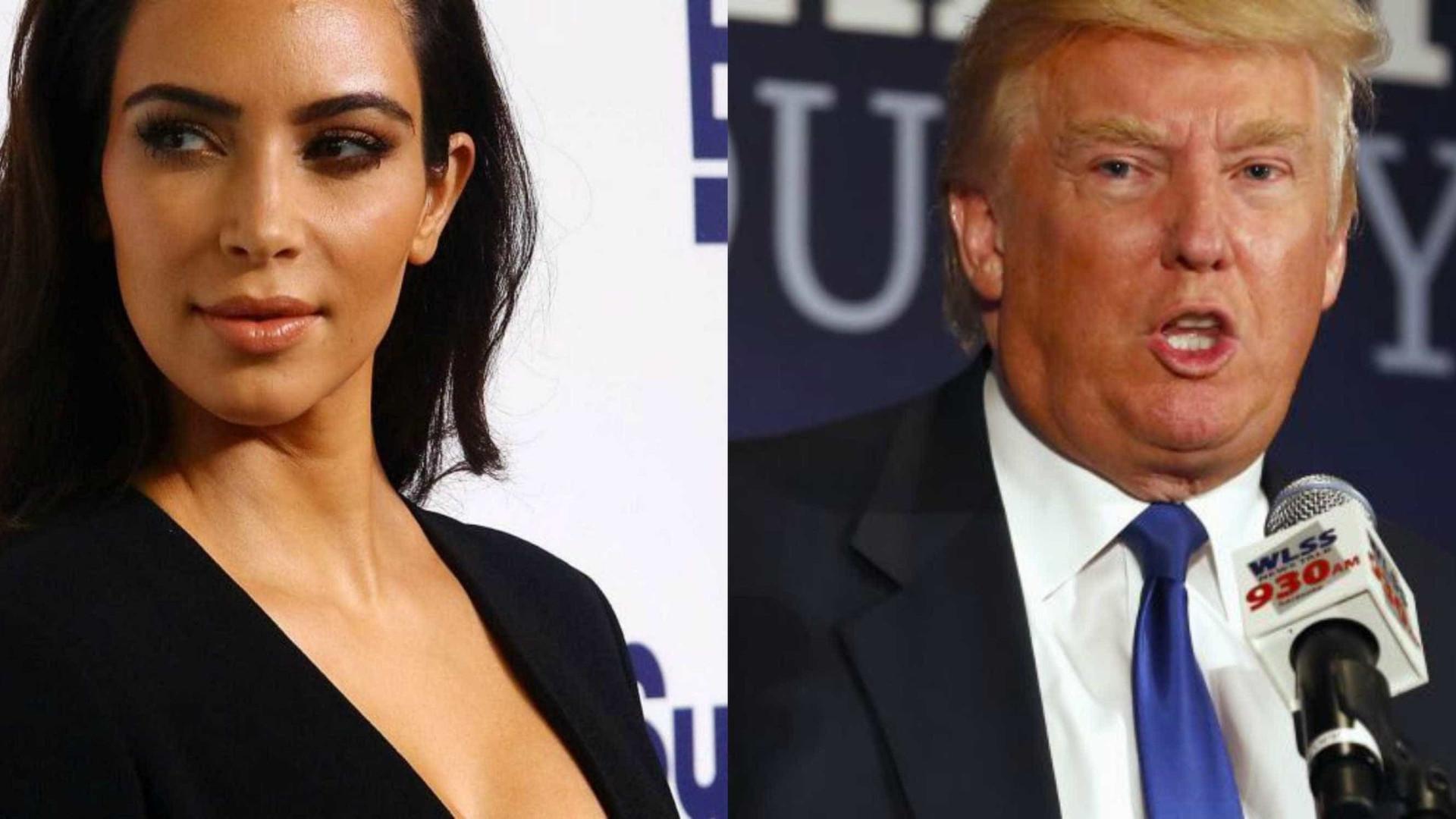 Kim Kardashian critica Donald Trump: