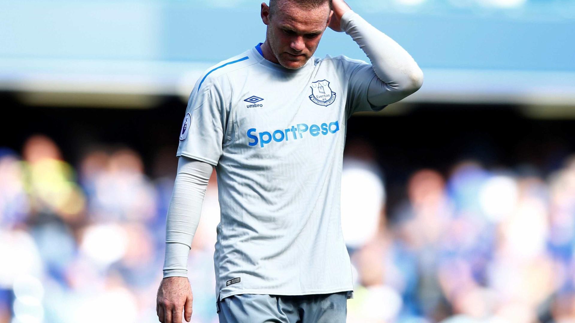 Old Trafford não tem nada preparado para receber Wayne Rooney
