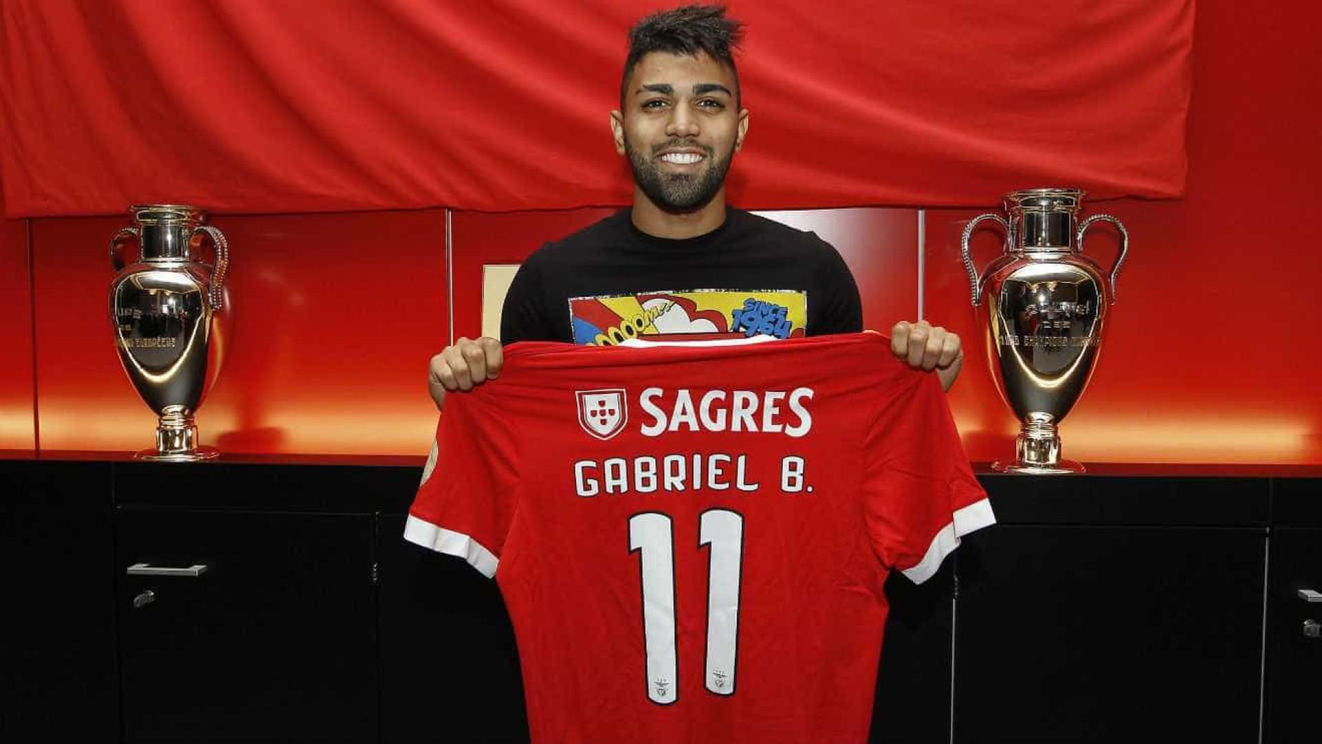 Gabigol é reforço do Benfica