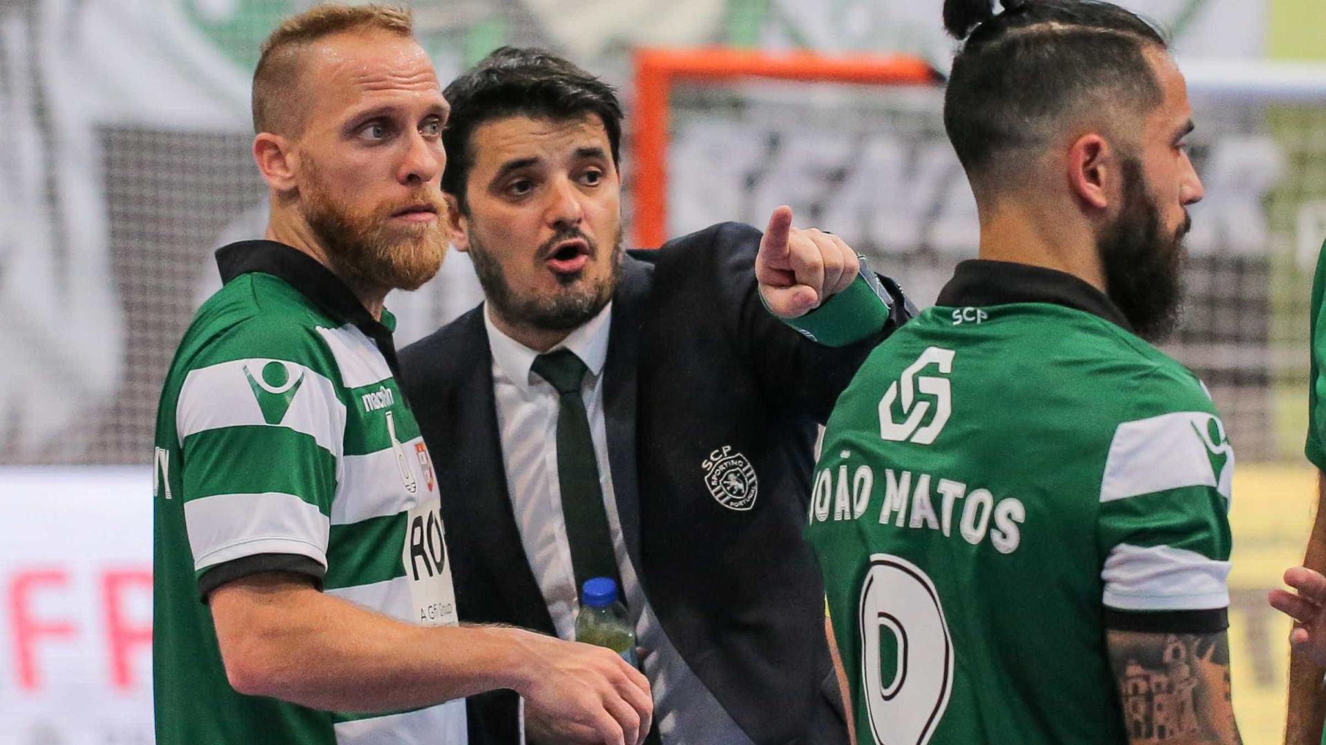 """Futsal Cup? """"Venha quem vier, será difícil para nós mas para eles também"""""""
