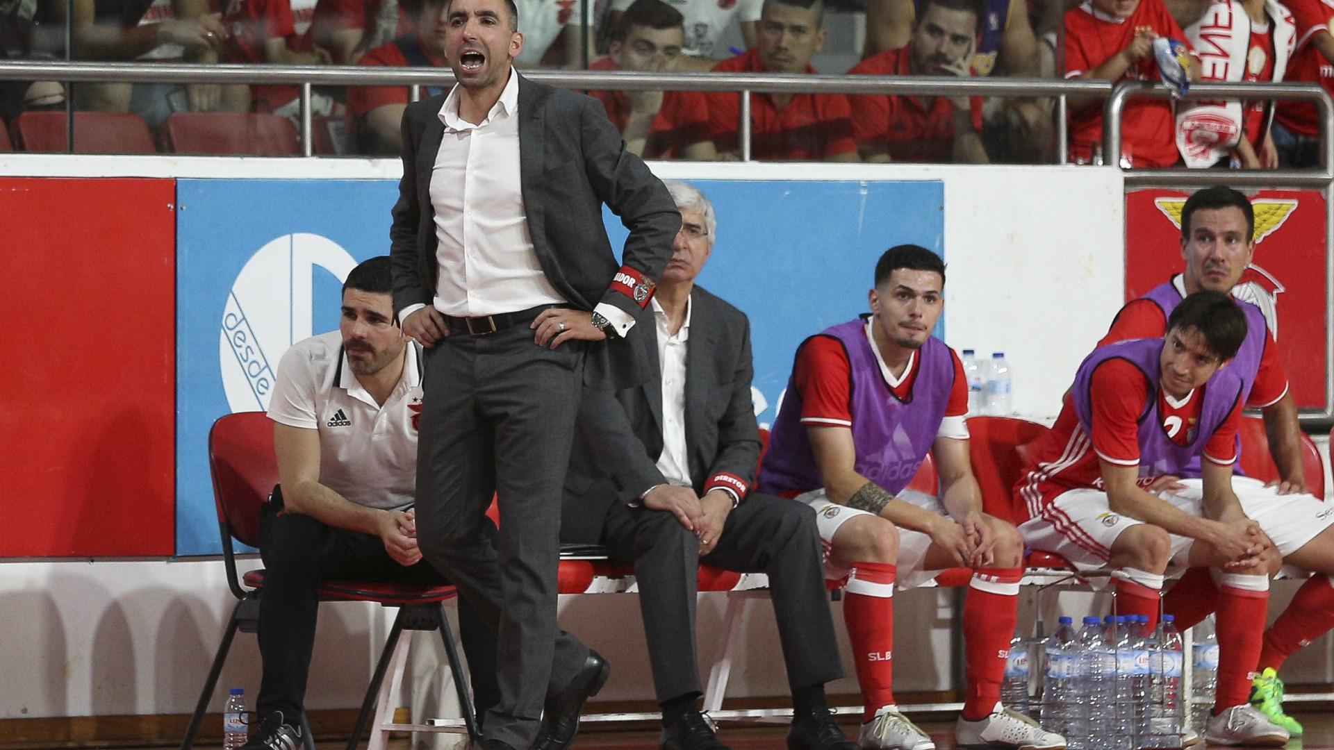 Futsal. Benfica vence Sporting e conquista Taça da Liga