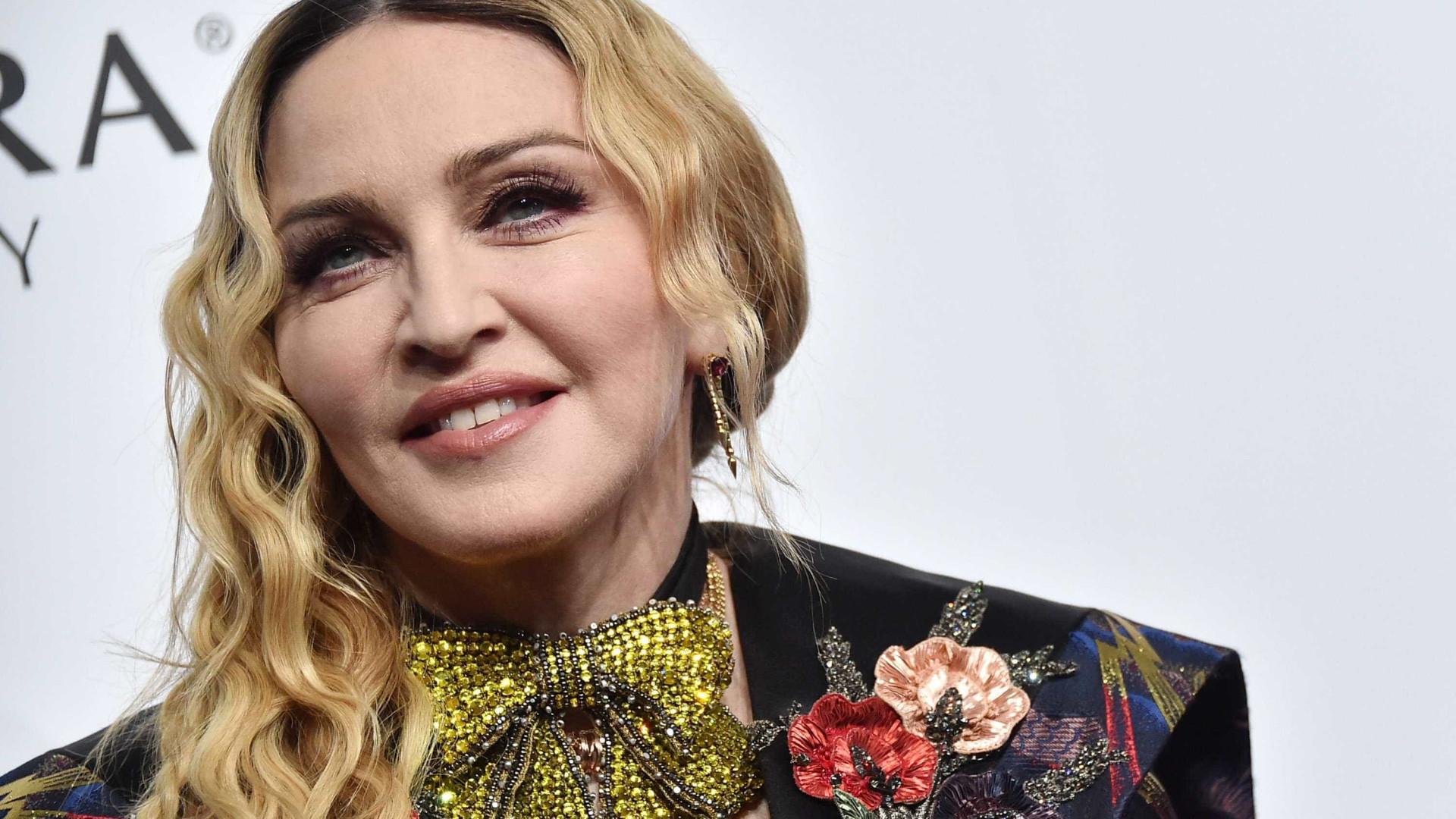 Em casa de Madonna a 'chama' pela música está sempre acesa