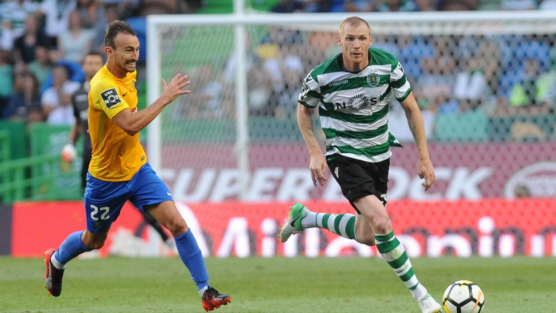 """Mathieu """"feliz"""" pelo golo apontado ao Tondela"""
